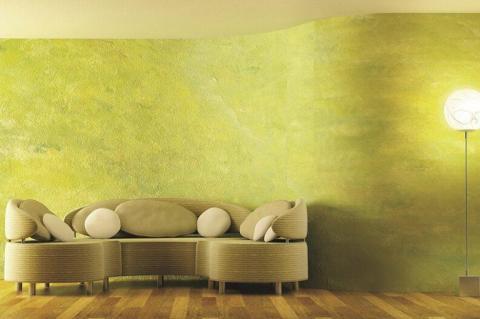 Декоративная штукатура – безопасный и красивый отделочный материал