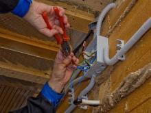 Работа электрика в частном доме